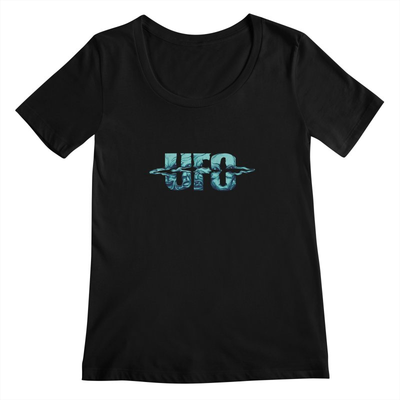 UFO Women's Scoopneck by RGRLV