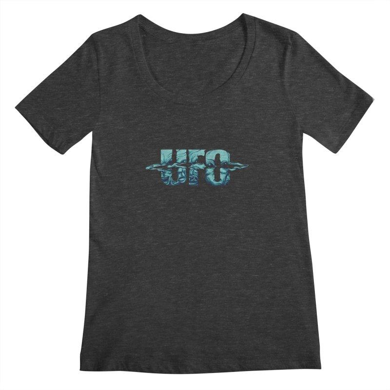 UFO Women's Scoopneck by RGRLV