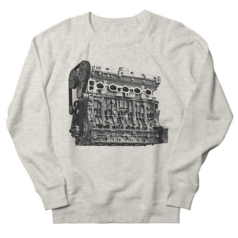 White Block Women's Sweatshirt by ULTRA EPIC MEGA STOKE RAD