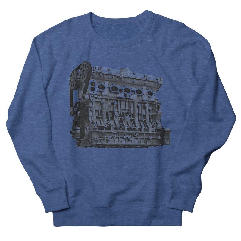 White Block Men's Sweatshirt by ULTRA EPIC MEGA STOKE RAD