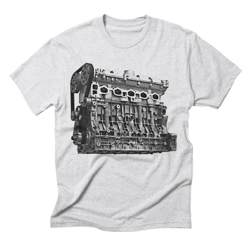 White Block Men's T-Shirt by ULTRA EPIC MEGA STOKE RAD
