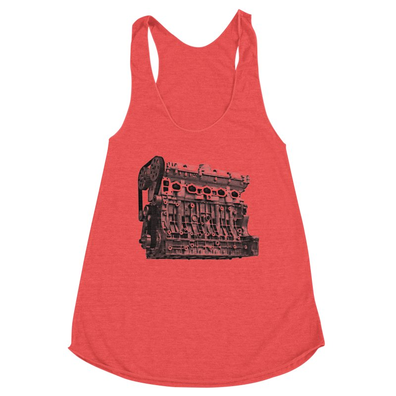 White Block Women's Tank by ULTRA EPIC MEGA STOKE RAD