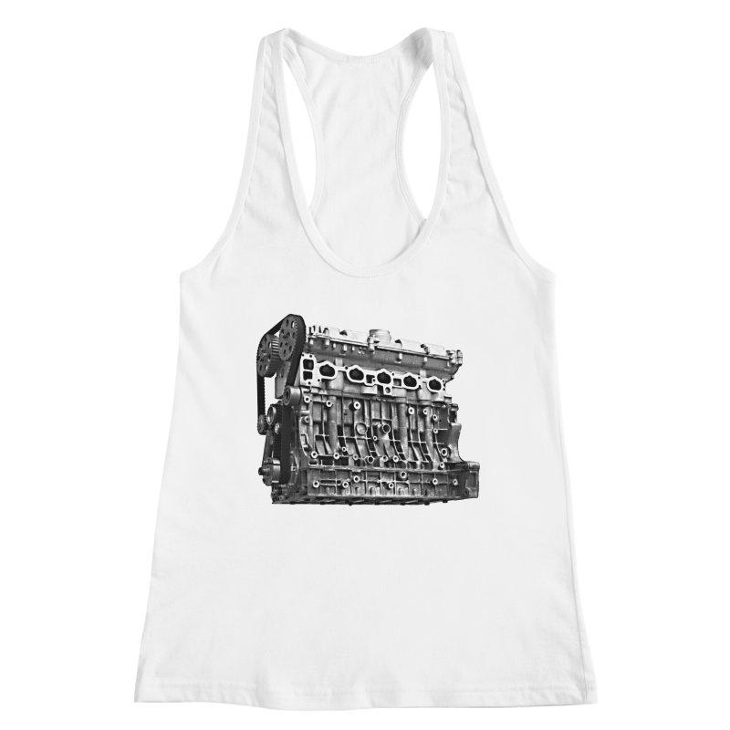 White Block Women's Tank by ULTRA EPIC MEGA STOKE RAD