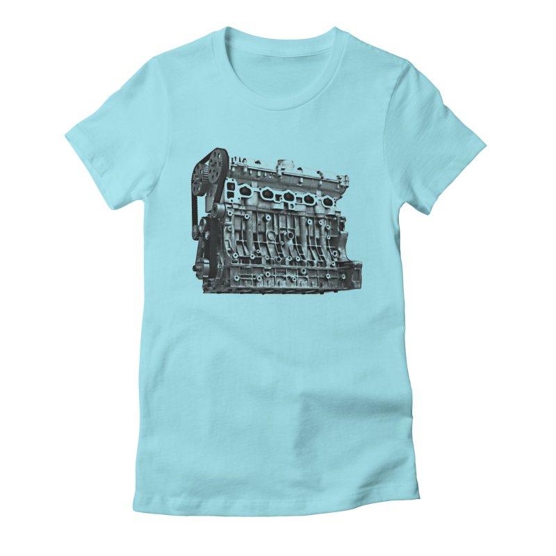 White Block Women's T-Shirt by ULTRA EPIC MEGA STOKE RAD