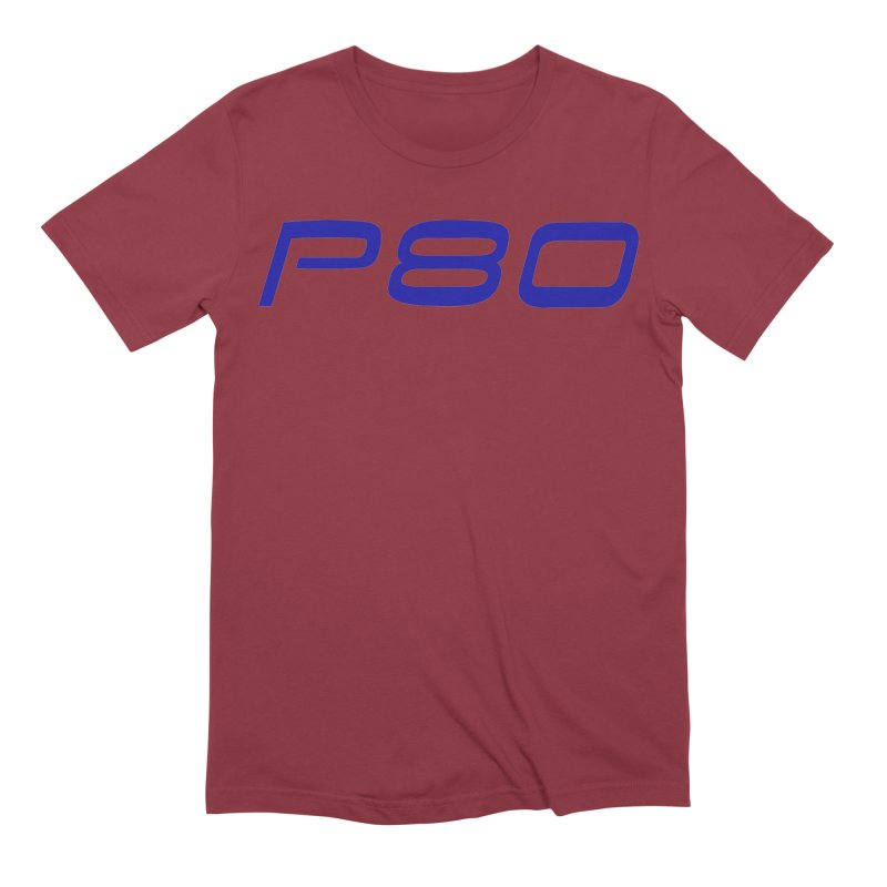 P80 Badge Men's T-Shirt by ULTRA EPIC MEGA STOKE RAD