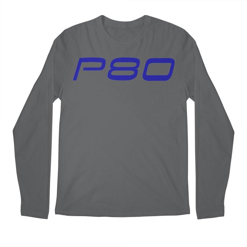 P80 Badge Men's Longsleeve T-Shirt by ULTRA EPIC MEGA STOKE RAD