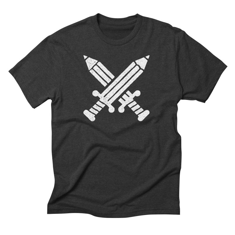 #creativeforce in Men's Triblend T-Shirt Heather Onyx by OHBOI Clothing