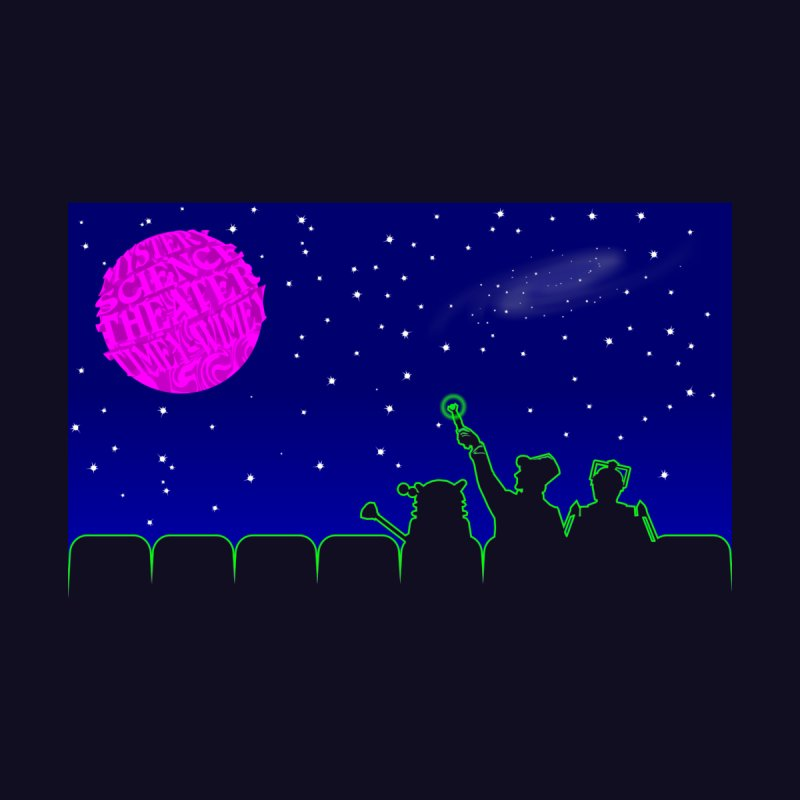 Mystery Science Theater Timey-Wimey None  by Inspired Human Artist Shop