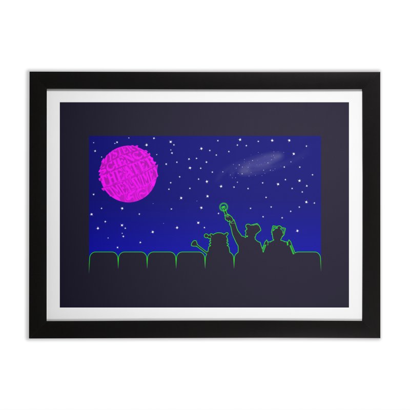 Mystery Science Theater Timey-Wimey Home Framed Fine Art Print by Inspired Human Artist Shop
