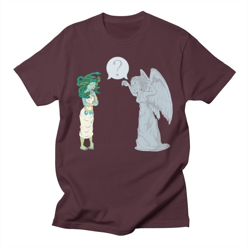 Medusa Vs. Weeping Angel   by Inspired Human Artist Shop