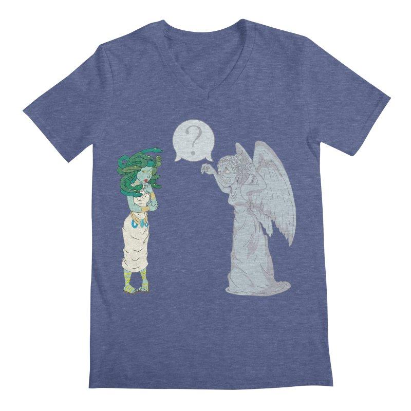 Medusa Vs. Weeping Angel   by Inspired Human Artist Shop