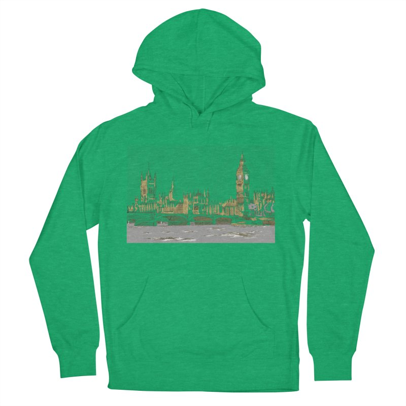Sketchy Town Women's Pullover Hoody by Inspired Human Artist Shop