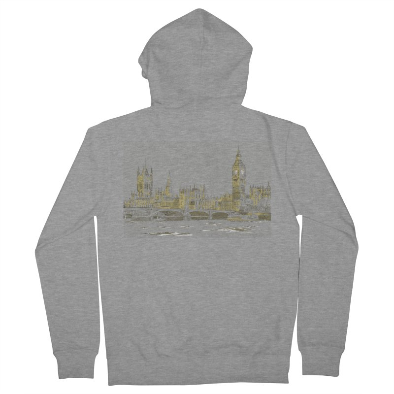 Sketchy Town Women's Zip-Up Hoody by Inspired Human Artist Shop
