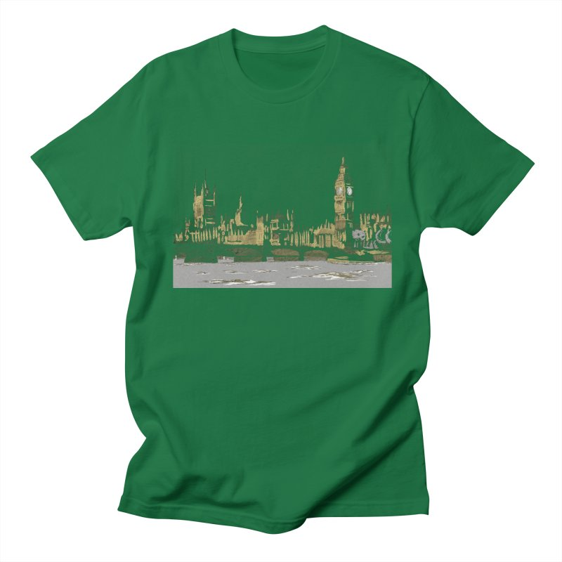 Sketchy Town Men's T-Shirt by Inspired Human Artist Shop