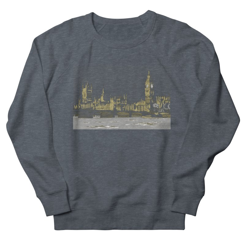 Sketchy Town Men's Sweatshirt by Inspired Human Artist Shop