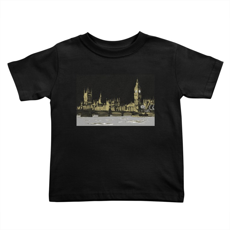 Sketchy Town Kids Toddler T-Shirt by Inspired Human Artist Shop