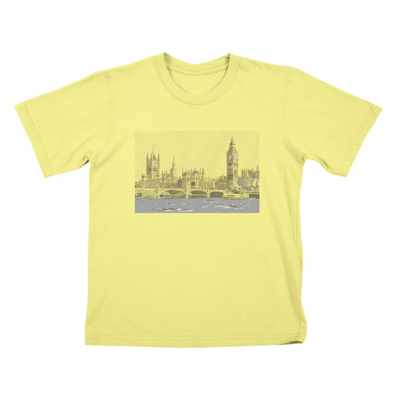Sketchy Town Kids T-shirt by Inspired Human Artist Shop