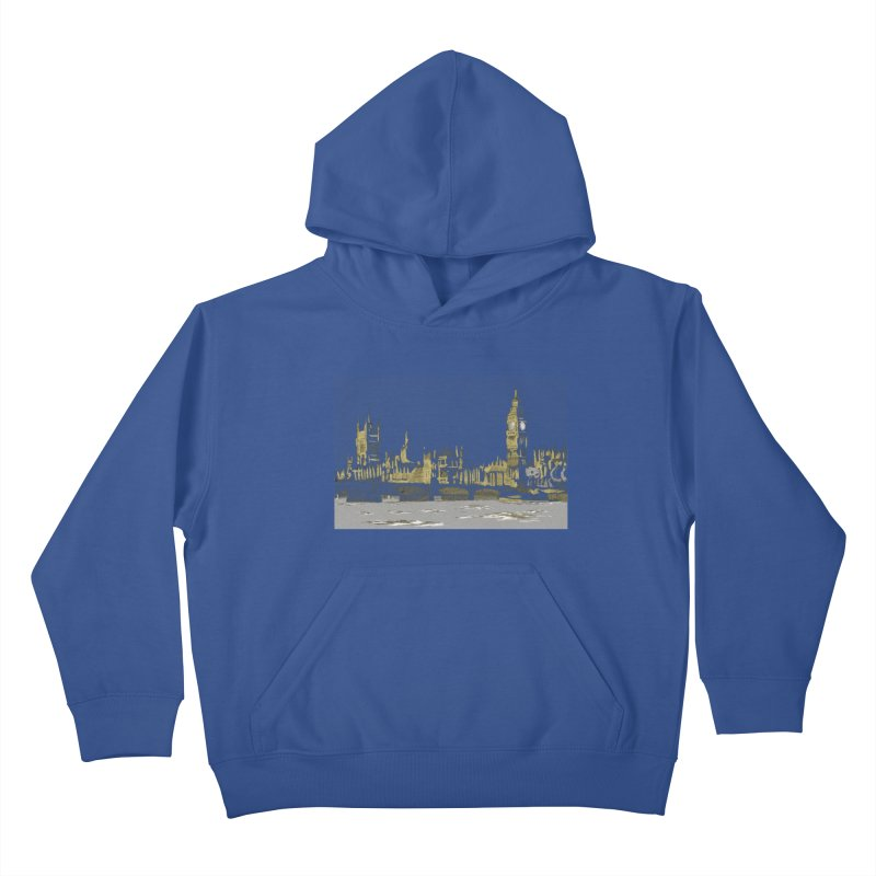 Sketchy Town Kids Pullover Hoody by Inspired Human Artist Shop