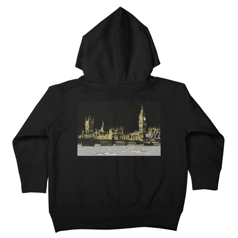 Sketchy Town Kids Toddler Zip-Up Hoody by Inspired Human Artist Shop