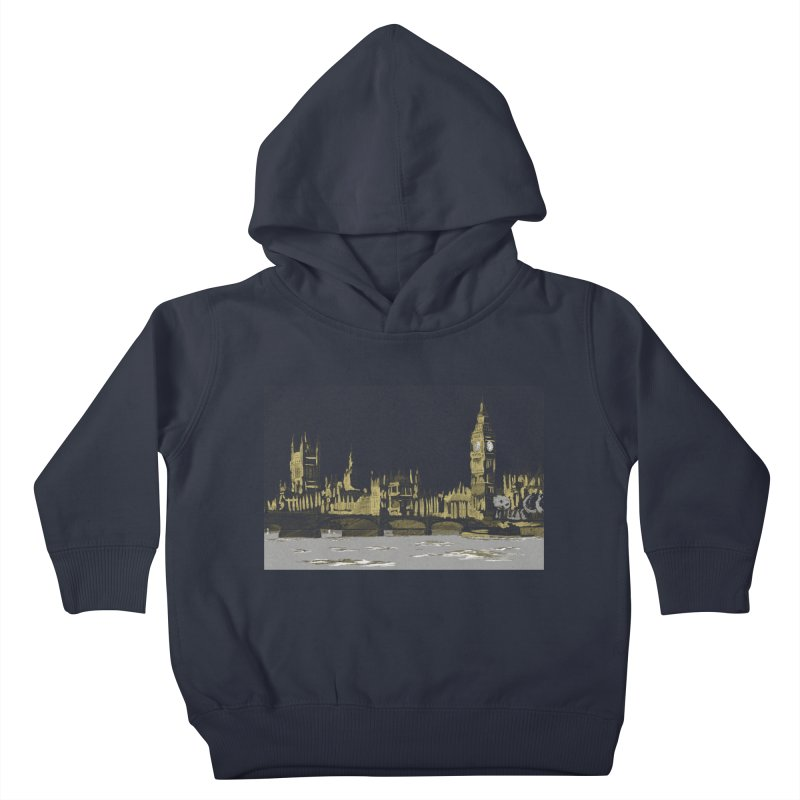 Sketchy Town Kids Toddler Pullover Hoody by Inspired Human Artist Shop