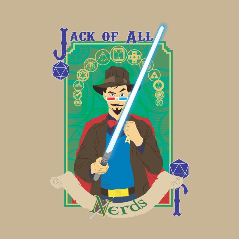 Jack of All Nerds by Inspired Human Artist Shop