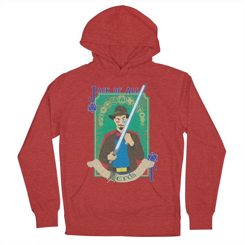 Jack of All Nerds Women's Pullover Hoody by Inspired Human Artist Shop