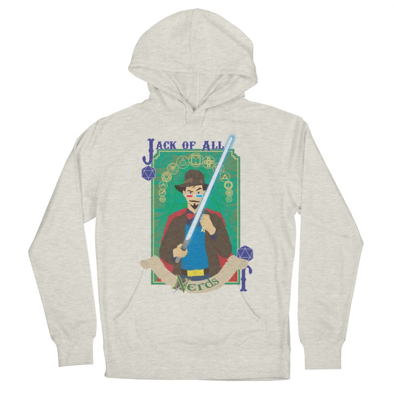 Jack of All Nerds Men's Pullover Hoody by Inspired Human Artist Shop