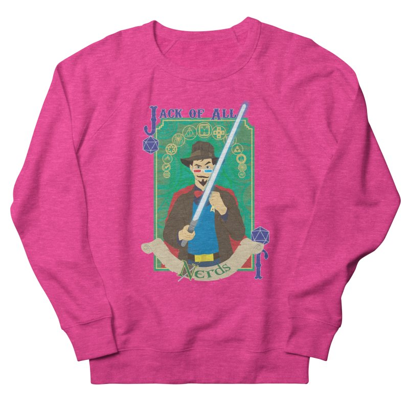 Jack of All Nerds Men's Sweatshirt by Inspired Human Artist Shop