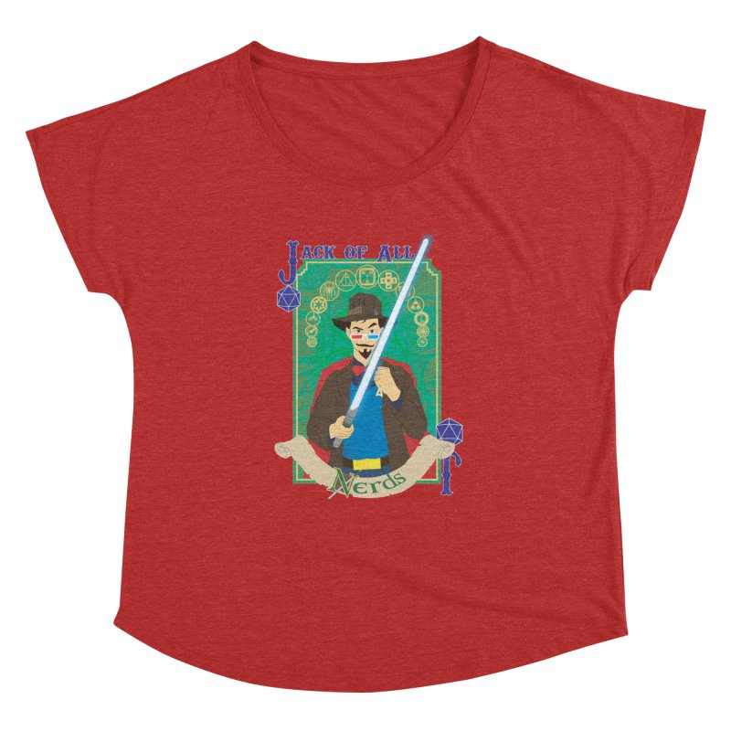 Jack of All Nerds Women's Dolman by Inspired Human Artist Shop
