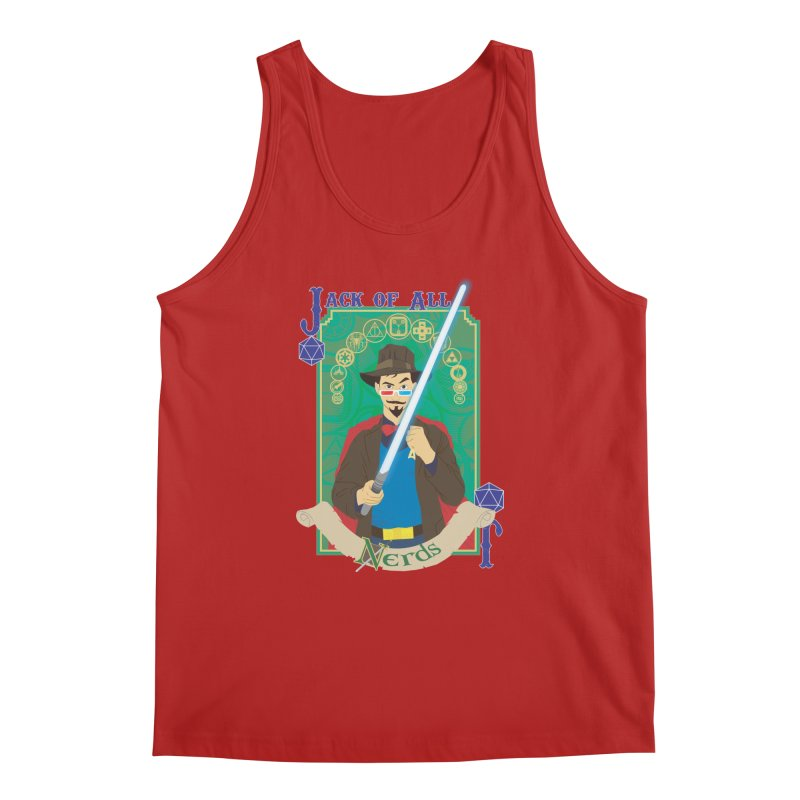 Jack of All Nerds Men's Tank by Inspired Human Artist Shop