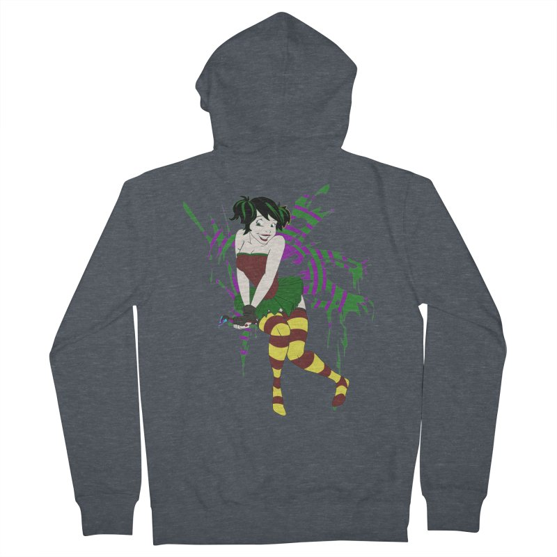 Artsy Fairy Women's Zip-Up Hoody by Inspired Human Artist Shop
