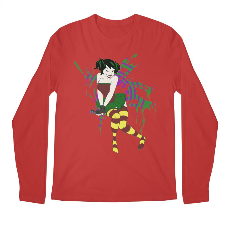 Artsy Fairy Men's Longsleeve T-Shirt by Inspired Human Artist Shop
