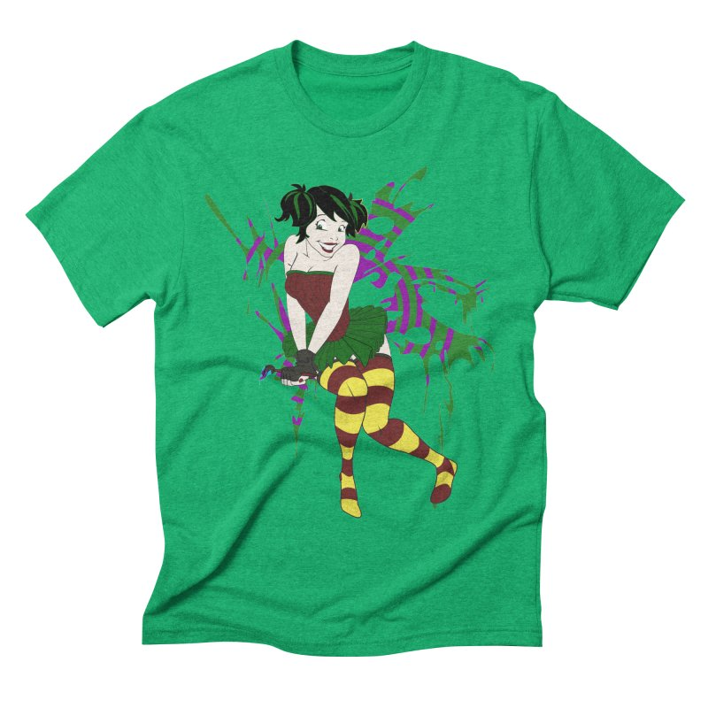 Artsy Fairy Men's Triblend T-shirt by Inspired Human Artist Shop