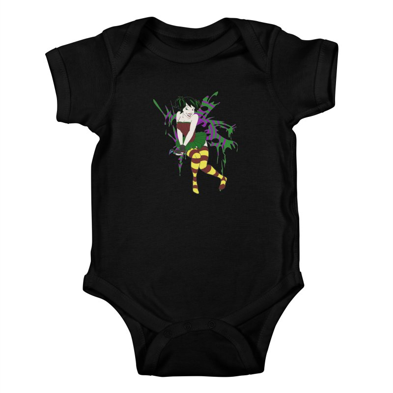 Artsy Fairy Kids Baby Bodysuit by Inspired Human Artist Shop