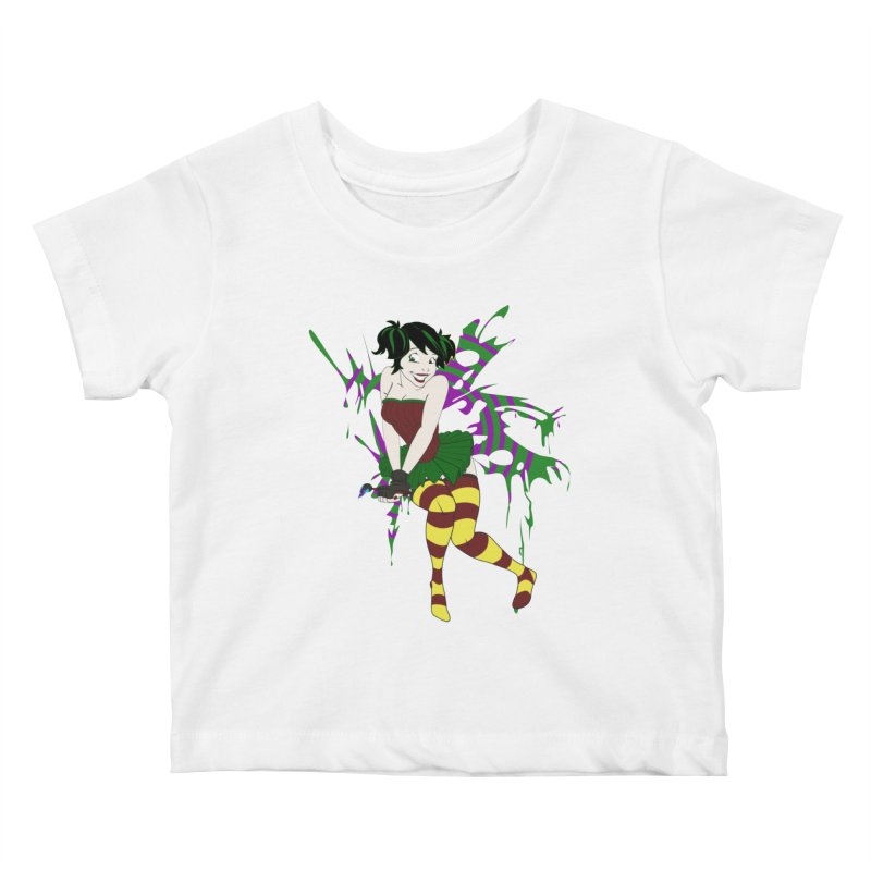 Artsy Fairy Kids Baby T-Shirt by Inspired Human Artist Shop