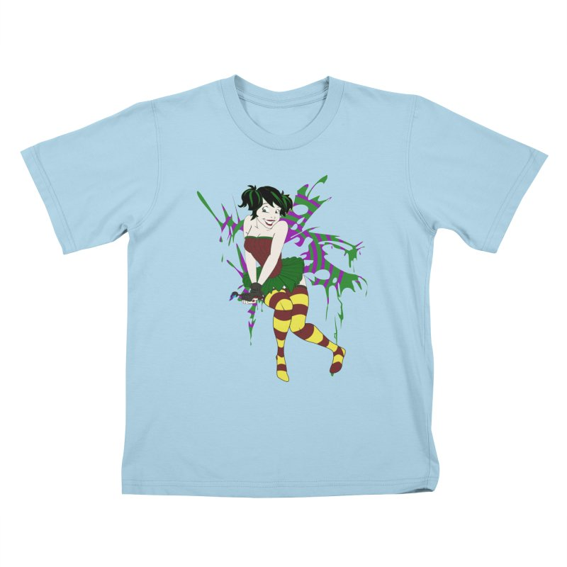Artsy Fairy Kids T-shirt by Inspired Human Artist Shop
