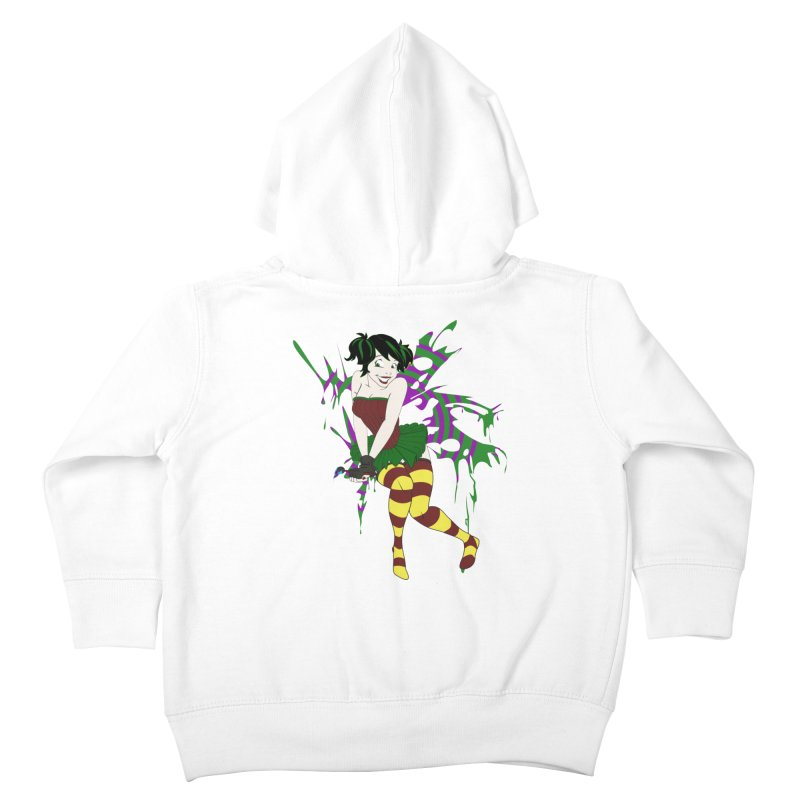 Artsy Fairy Kids Toddler Zip-Up Hoody by Inspired Human Artist Shop