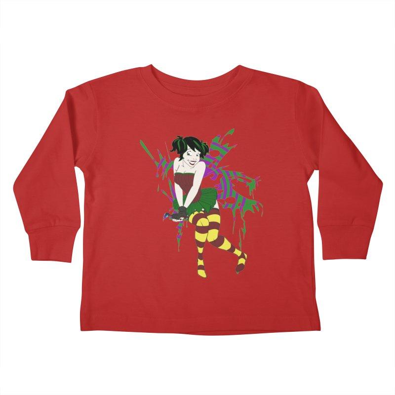 Artsy Fairy Kids Toddler Longsleeve T-Shirt by Inspired Human Artist Shop