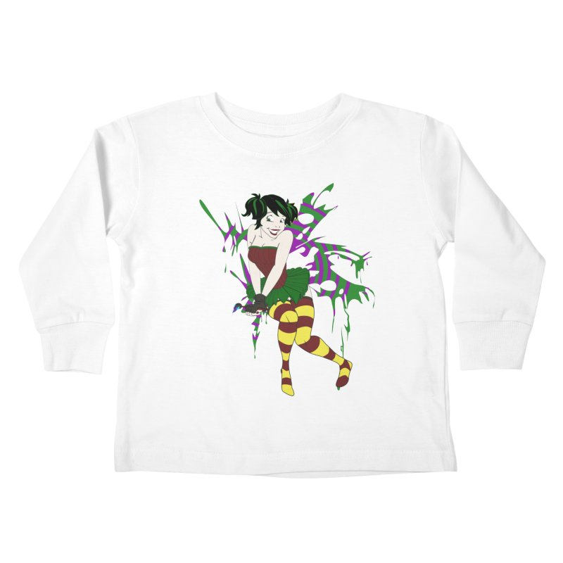 Artsy Fairy Kids Toddler Longsleeve T-Shirt by Inspired Human Artist Shop