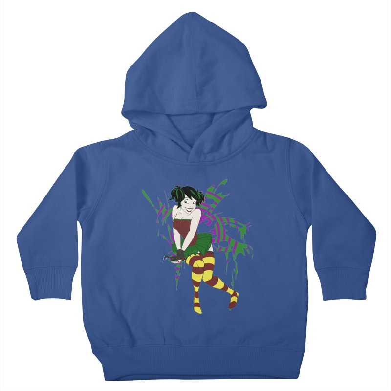 Artsy Fairy Kids Toddler Pullover Hoody by Inspired Human Artist Shop