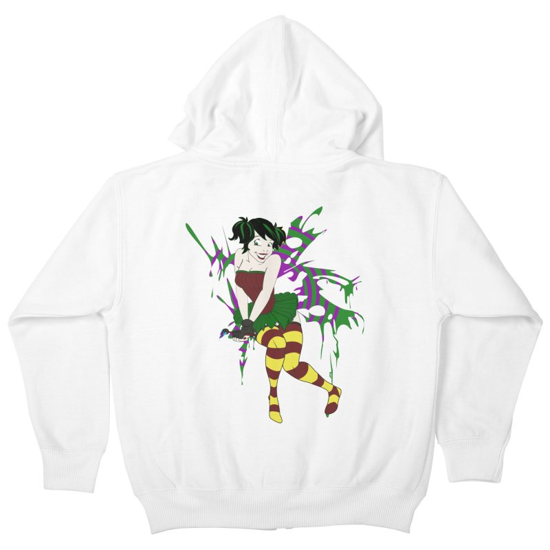Artsy Fairy Kids Zip-Up Hoody by Inspired Human Artist Shop