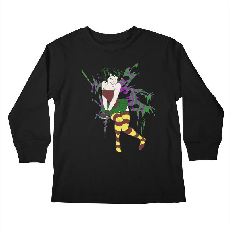 Artsy Fairy Kids Longsleeve T-Shirt by Inspired Human Artist Shop