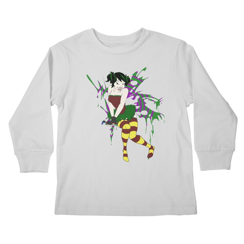 Artsy Fairy Kids Longsleeve T-Shirt by Inspired Human Artist Shop