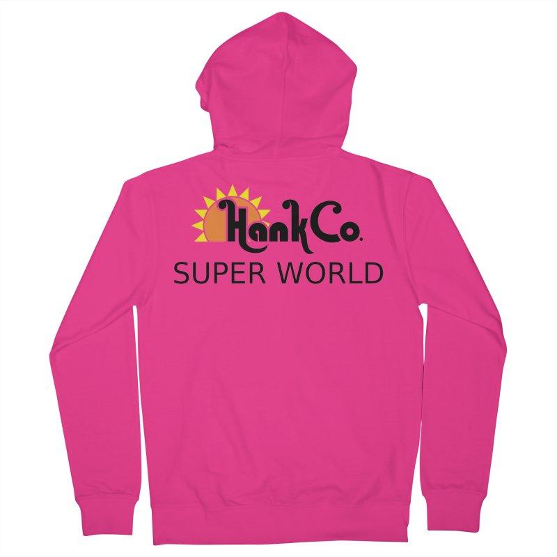 Hank Co. Men's Zip-Up Hoody by Inspired Human Artist Shop