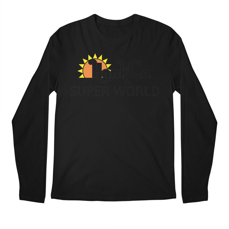 Hank Co. Men's Longsleeve T-Shirt by Inspired Human Artist Shop