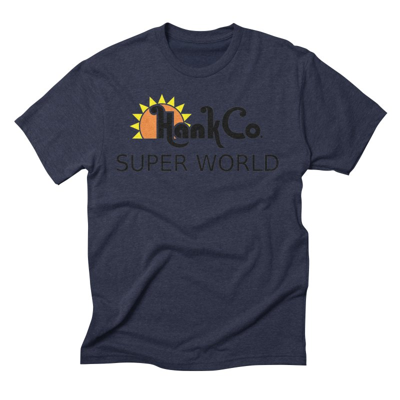 Hank Co. Men's Triblend T-Shirt by Inspired Human Artist Shop