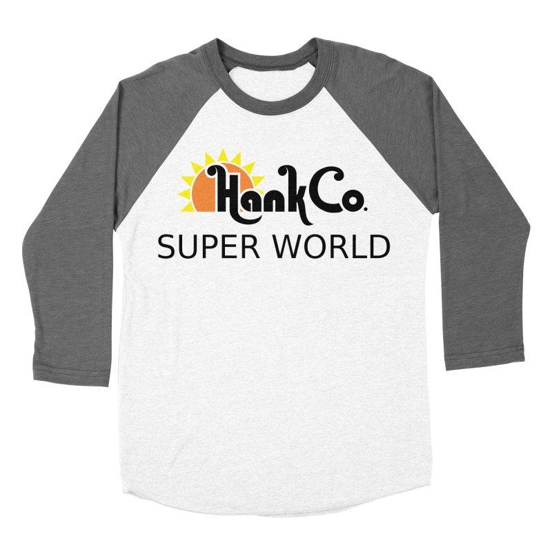 Hank Co. Men's Baseball Triblend T-Shirt by Inspired Human Artist Shop