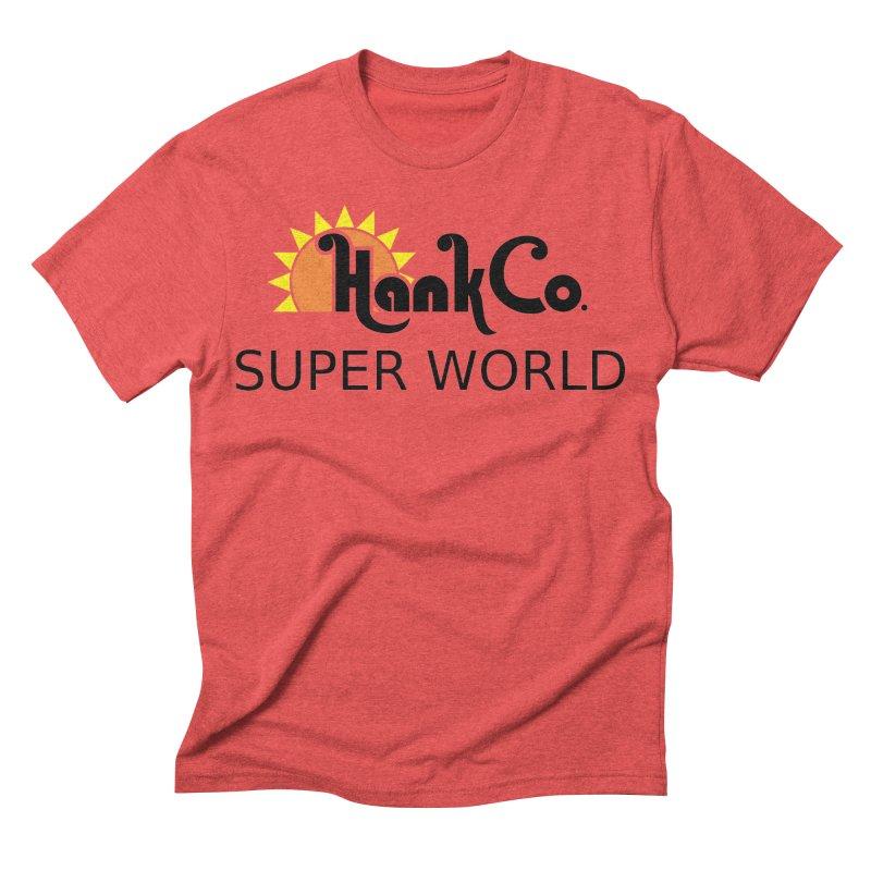 Hank Co. Men's Triblend T-shirt by Inspired Human Artist Shop