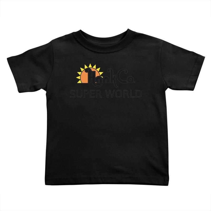 Hank Co. Kids Toddler T-Shirt by Inspired Human Artist Shop