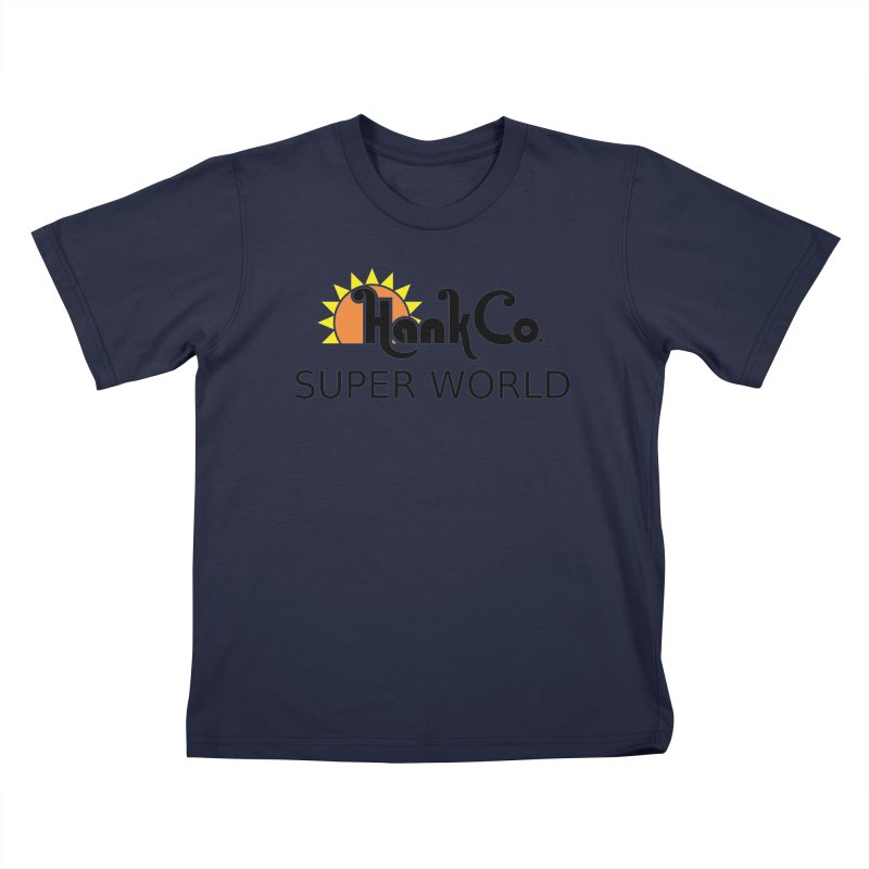 Hank Co. Kids T-Shirt by Inspired Human Artist Shop